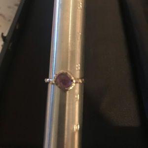 Silpada purple stone